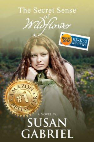 novel, The Secret Sense of Wildflower, by Susan Gabriel