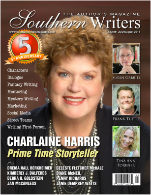 southern writers mag cover