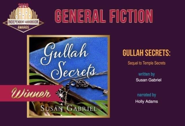 Gullah Secrets winner Independent Audiobook Award